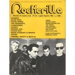 ROCKERILLA 36 Luglio/Agosto 1983