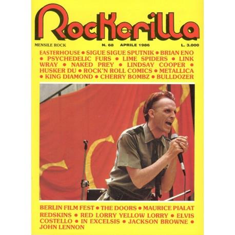 ROCKERILLA 68 Aprile 1986