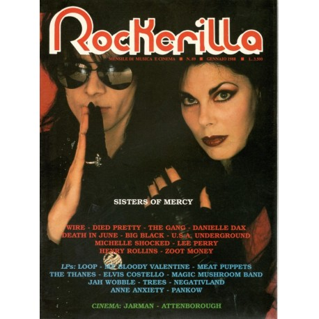 ROCKERILLA 89 Gennaio 1988