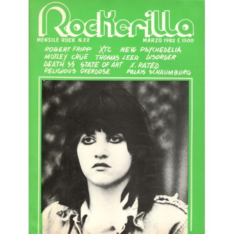 ROCKERILLA 22 Marzo 1982