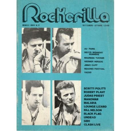ROCKERILLA 27 Settembre/Ottobre 1982