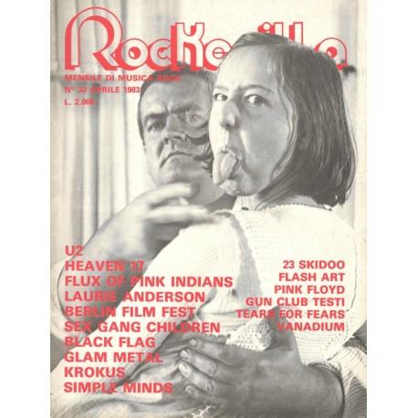 ROCKERILLA 33 Aprile 1983