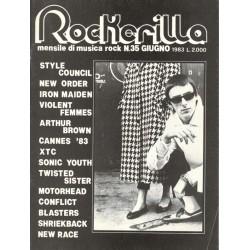 ROCKERILLA 35 Giugno 1983