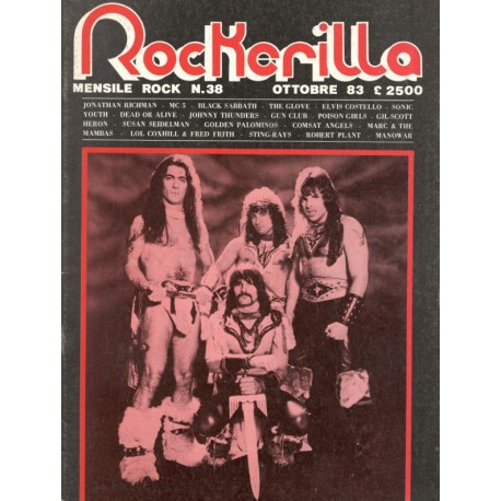 ROCKERILLA 38 Ottobre 1983