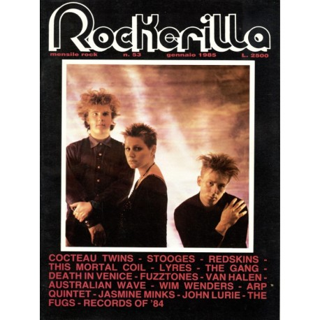 ROCKERILLA 53 Gennaio 1985