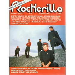 ROCKERILLA 54 Febbraio 1985