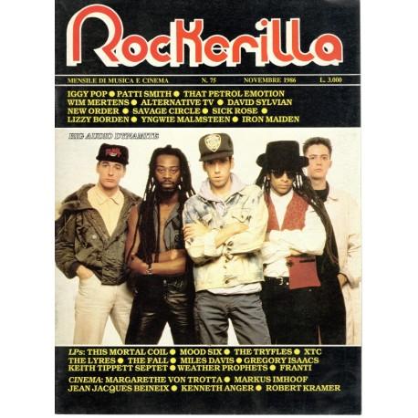 ROCKERILLA 75 Novembre 1986