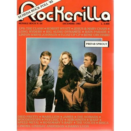 ROCKERILLA 64 Dicembre 1985