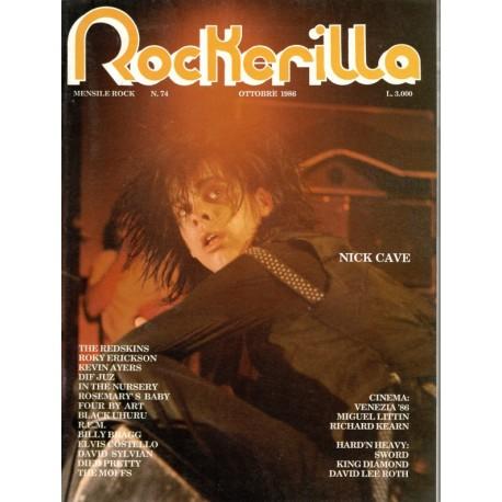ROCKERILLA 74 Ottobre 1986