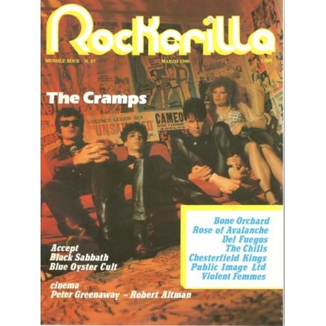 ROCKERILLA 67 Marzo 1986