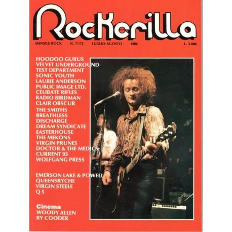 ROCKERILLA 71/72 Luglio/Agosto 1986
