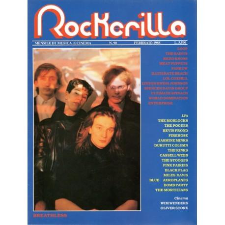 ROCKERILLA 90 Febbraio 1988