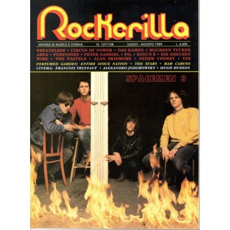 ROCKERILLA 107/108 Luglio/Agosto 1989