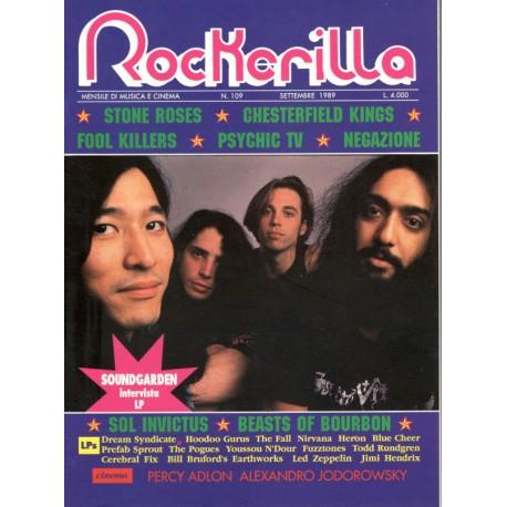 ROCKERILLA 109 Settembre 1989