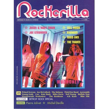 ROCKERILLA 111 Novembre 1989