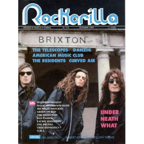 ROCKERILLA 112 Dicembre 1989