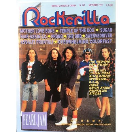 ROCKERILLA 147 Novembre 1992
