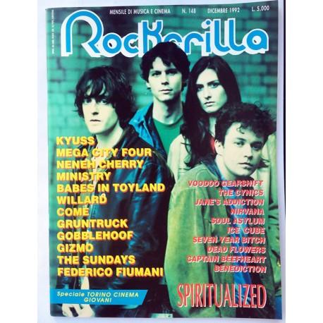 ROCKERILLA 148 Dicembre 1992