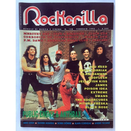 ROCKERILLA 138 Febbraio 1992