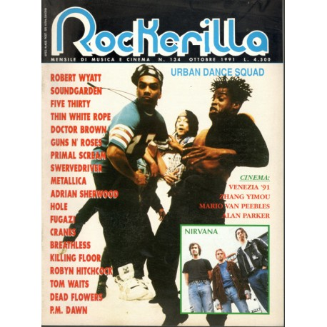 ROCKERILLA 134 Ottobre 1991