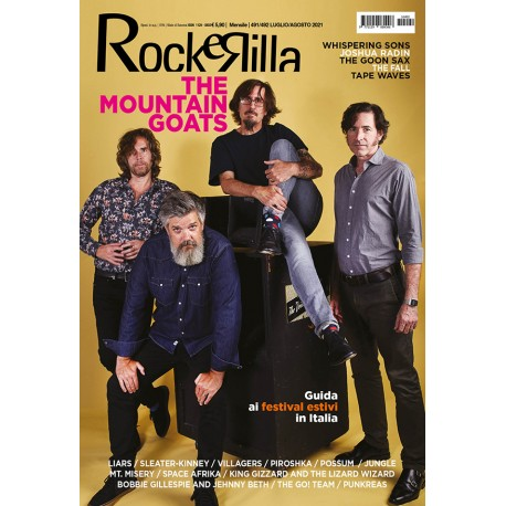 Preorder ROCKERILLA 491/492 Luglio/Agosto 2021