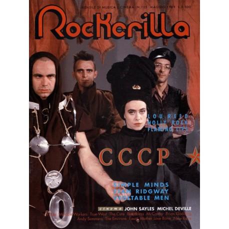 ROCKERILLA 105 Maggio 1989