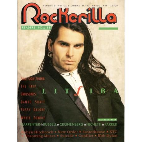 ROCKERILLA 103 Marzo 1989