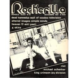 ROCKERILLA 18 Novembre 1981
