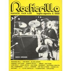 ROCKERILLA 26 Luglio/Agosto 1982