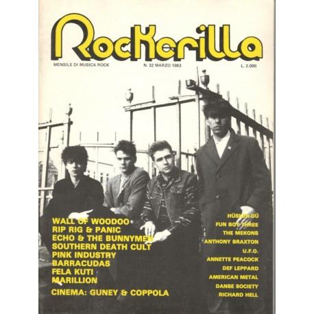ROCKERILLA 32 Marzo 1983