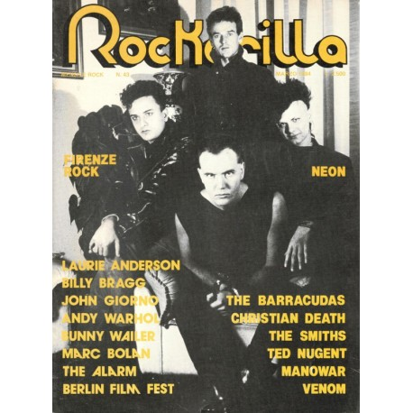 ROCKERILLA 43 Marzo 1984